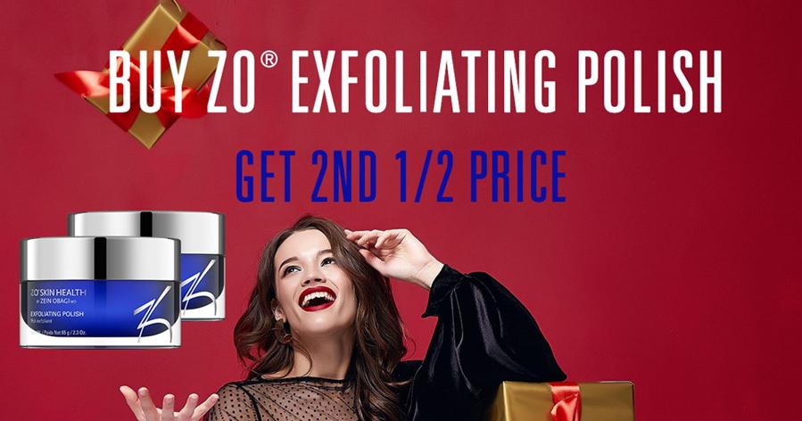 Kjøp ZO Exfoliating Polish - Få 1/2 pris på nr. 2!