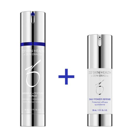 Bilde av Kampanje! Wrinkle & Texture Repair + Daily Power Defense 30 ml. Verdi: 1197 kr!