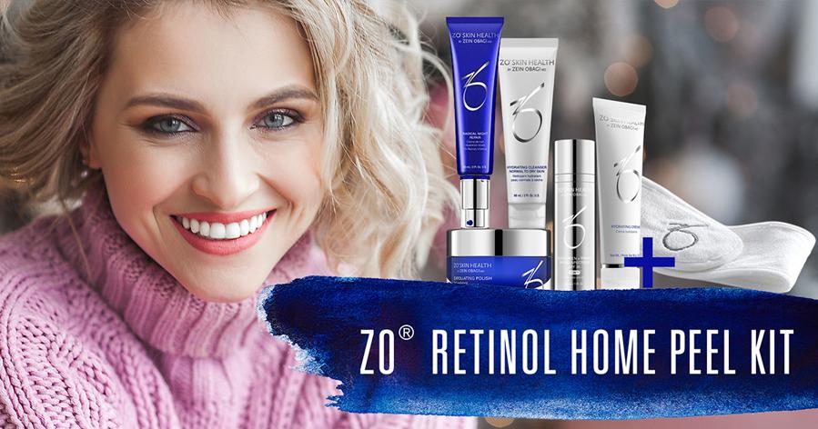 ZO Retinol At Home Peel Kit: Jevnere hudtone, mer glød og sunnere hud!