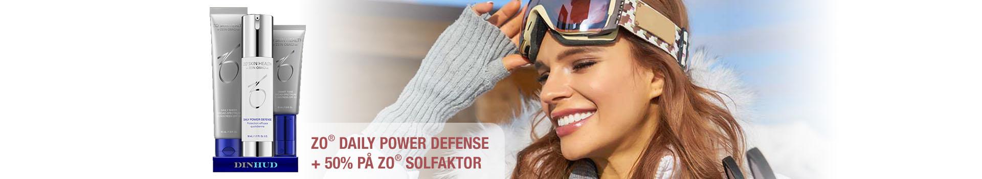 Kjøp ZO Daily Power Defense og få halv pris på solkrem