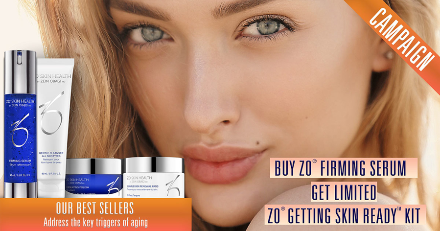 Kjøp ZO® Firming Serum og få med ZO® Getting Skin Ready Kit!